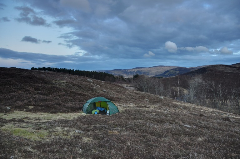 02 Apr Glen Esk wild camp h