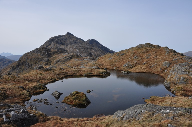 09 Apr Meall na Sroine ascent p b