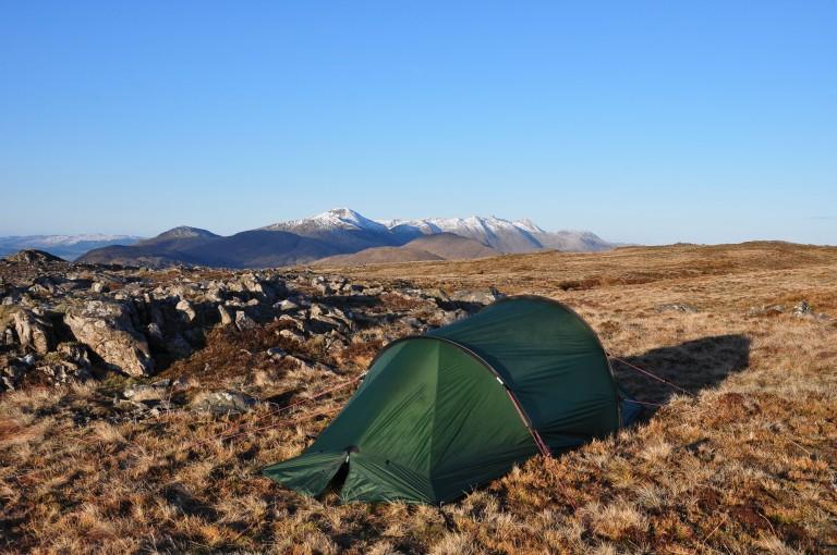 15 Apr Beinn Suidhe Nallo summit camp dawn d