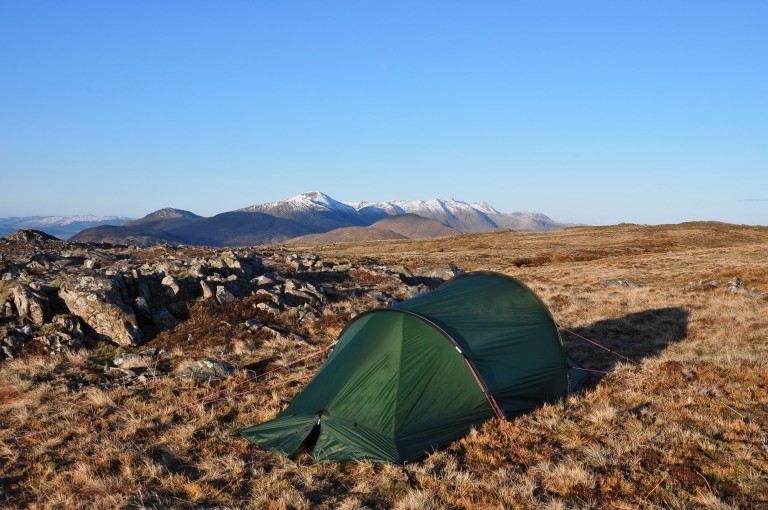 15 Apr Beinn Suidhe Nallo summit camp dawn d