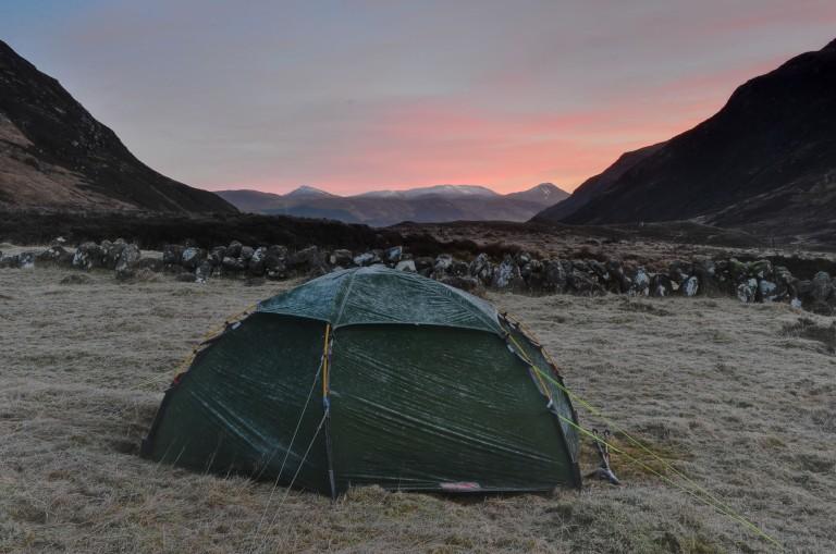 15 Jan Gleann Fhiodaig Allak camp c