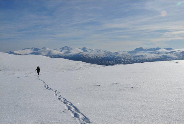 20 Feb H on Meall Buidhe climb e