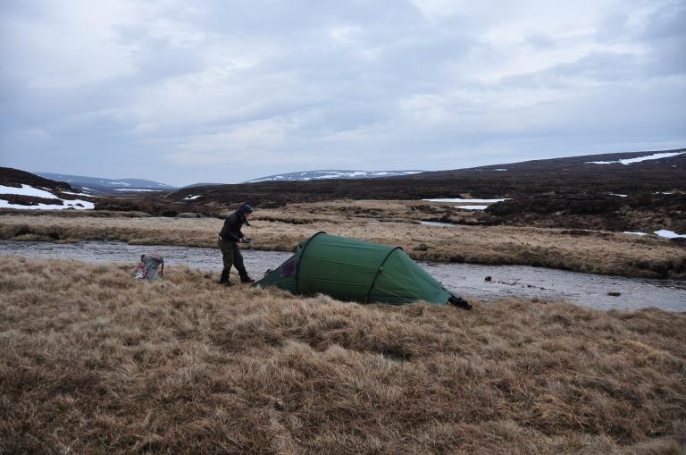 24 Apr upper Tarf campsite a