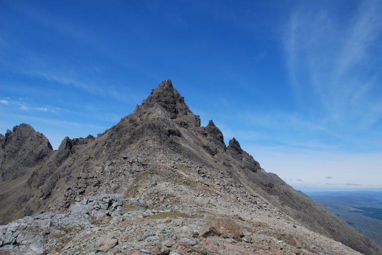 10 Jun Sgurr nan Gillean from Gillean SE ridge d