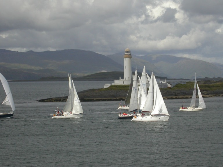 30 July lighthouse and yachts b