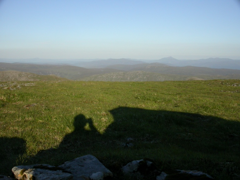 15 July K shadow from tent to Schiehallion b
