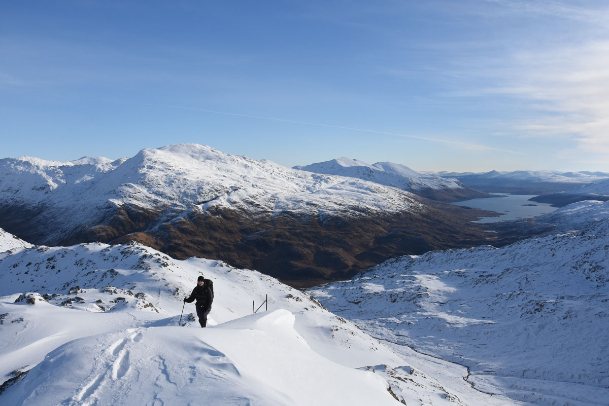 Section 10B - Mallaig road to Glen Shiel - Busy Doing Nothing